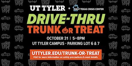 Drive Thru Trunk or Treat tickets
