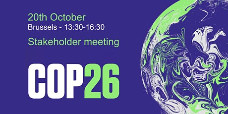 COP26 - Stakeholder meeting tickets