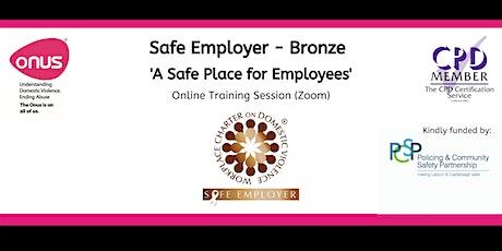 Safe Employer (Bronze) Lisburn & Castlereagh City Council tickets