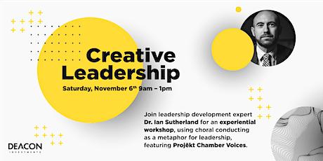 Creative Leadership tickets