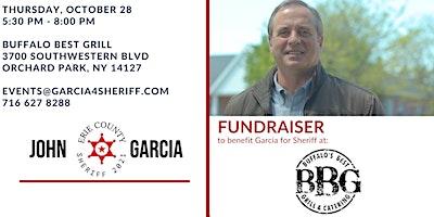 October 28th – Fundraiser for John Garcia
