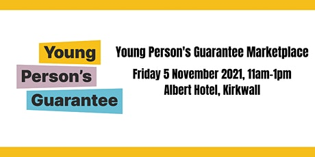 Young Person's Guarantee Marketplace tickets