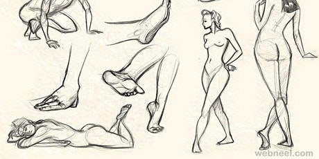Untaught Life Drawing Session Online tickets
