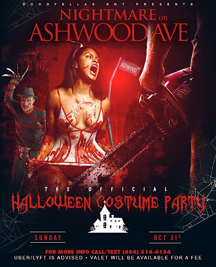 NIGHTMARE ON ASHWOOD AVE | HALLOWEEN HAUNTED HOUSE COSTUME PARTY image