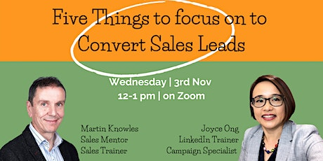 Five things to focus on to convert Sales Leads tickets