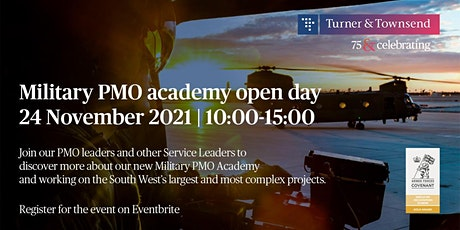 Military PMO Academy Recruitment Open Day tickets