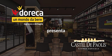Doreca presenta Castel de Paolis biglietti