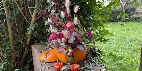 Children's pumpkin n flowers masterclass tickets