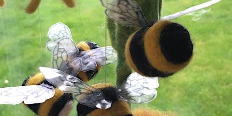 Bees: Needle Felting Workshop Morning Session tickets