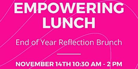 Empowering Lunch tickets
