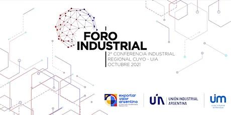 5º Foro Industrial - Unión Industrial de Mendoza - Octubre2021 entradas
