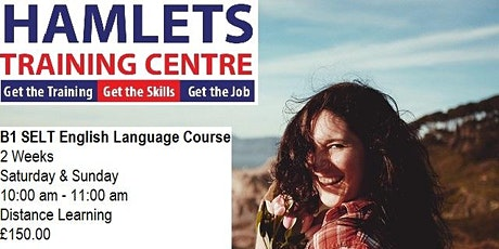 B1 SELT English Language Course - Distance Learning tickets