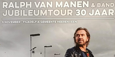 Try-Out Jubileumconcert: 30 jaar Ralph van Manen tickets
