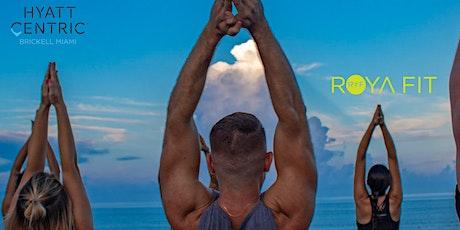 Full Moon Yoga: RoyaFit x Hyatt Centric Brickell tickets