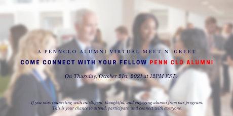 Penn CLO Alumni Virtual Social tickets