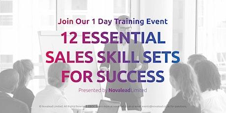 The 12 Essential Sales Skills. A One-Day Workshop at Leeds Utd FC Elland Rd tickets