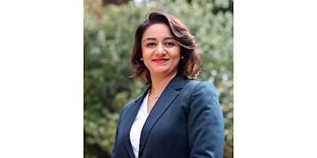 Ambassador Roya Rahmani, the former Ambassador of Afghanistan tickets