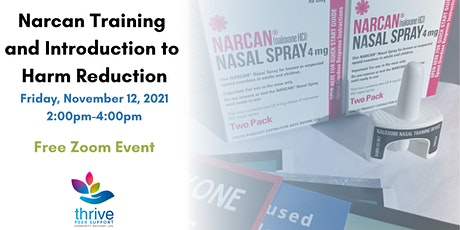 Narcan Training and Introduction to Harm Reduction tickets