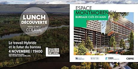 Lunch-Découverte - Espace Montmorency billets