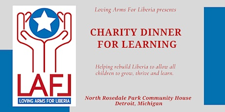 Charity Dinner For Learning tickets
