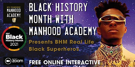 Black History Month with Manhood Academy 2021 tickets