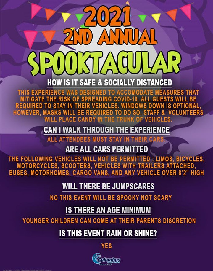 2nd Annual 2021 Spooktacular Trunk or Treat image