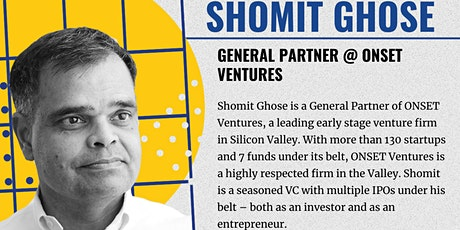 EUVC Founder Community Talk with Shomit Ghose, from Onset Ventures tickets