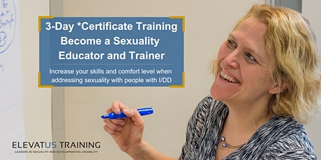 Becoming a Sexuality Educator and Trainer - September 21-23 tickets