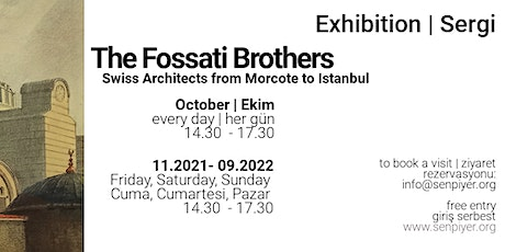 The Fossati Brothers - Exhibition tickets