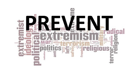 YOUR COMMUNITY - PREVENT safeguarding from the threat of terrorism. tickets