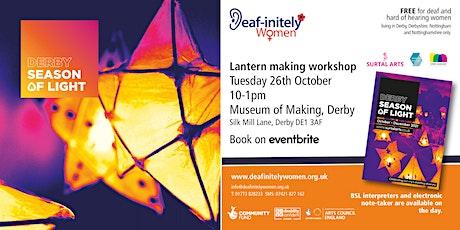 Deaf-initely Women: Derby Season of Light tickets