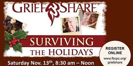 Surviving the Holidays - GriefShare tickets
