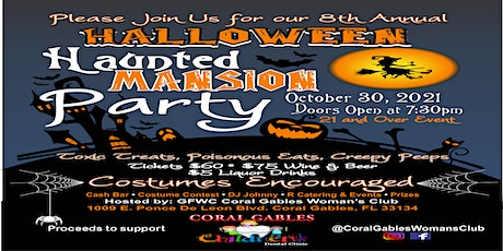 HALLOWEEN HAUNTED MANSION PARTY tickets