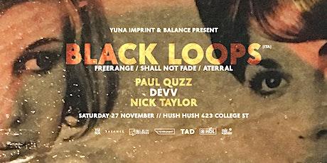 Yuna Imprint and Balance present Black Loops tickets