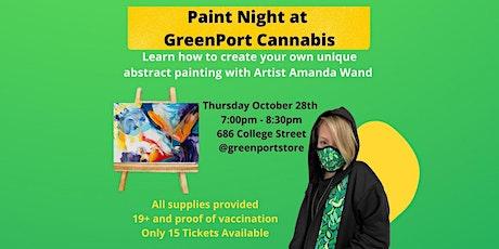 Paint Night at GreenPort Cannabis tickets
