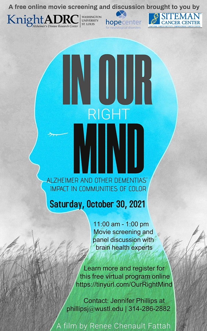 In Our Right Mind - Alzheimer and Dementias' Impact in Communities of Color image