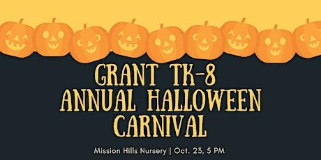 Annual Grant School Neighborhood Halloween Carnival! tickets