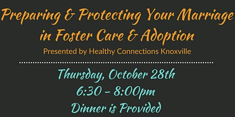 Community Connection - Preparing Your Marriage for Foster Care & Adoption tickets