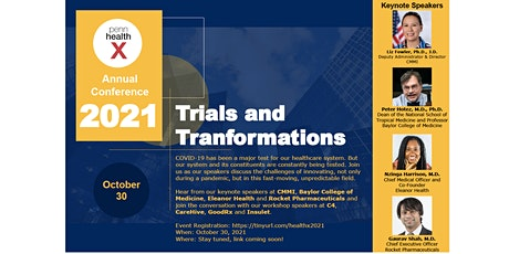 PennHealthX Conference 2021 - Trials and Transformations tickets