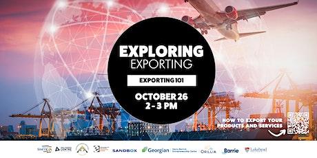 Exploring Exporting: Exporting 101 tickets