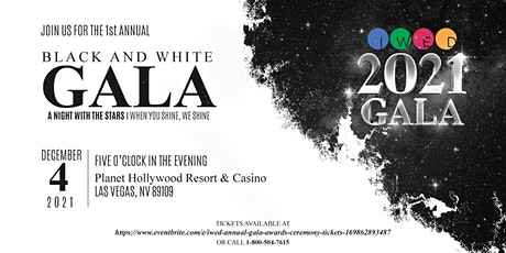 IWED Annual Gala & Awards Ceremony tickets