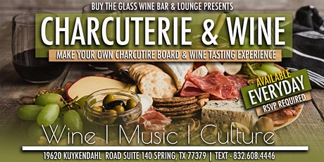 Make Your Own Charcuterie Board & Wine Tasting Experience tickets
