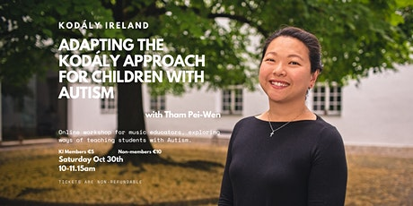 KI Webinar: Adapting the Kodály Approach for Children with Autism tickets
