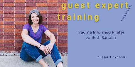 Expert Training: Trauma Informed Pilates with Beth Sandlin tickets