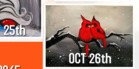 All Ages Paint nigth at Retro in Camrose OCT 26th tickets