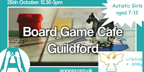 Appeer Girls Unplug + Play , Board Game Cafe, Guildford ( 7-12yrs) tickets