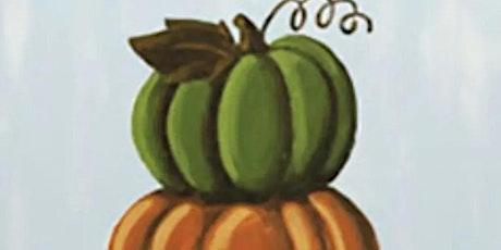 Pumpkin Love- Paint night tickets