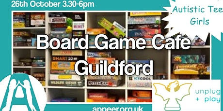 Appeer Teens Unplug + Play , Board Game Cafe, Guildford ( Teen Girls) tickets