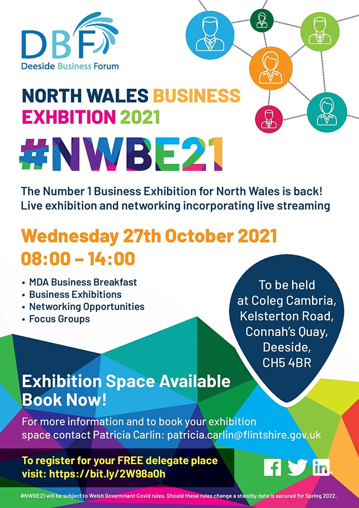 DBF North Wales Business Exhibition #NWBE21 image
