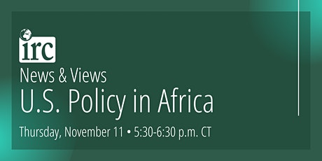 News & Views: U.S. Policy in Africa tickets
